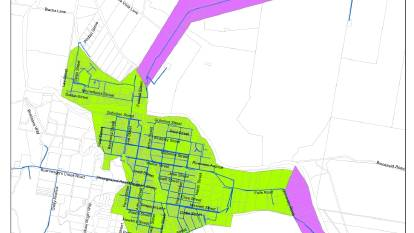 ALERT: Council published a map of the area affected by the boil water alert. Image: DUBBO REGIONAL COUNCIL