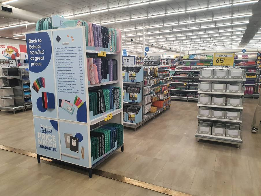 BIG W have launched their annual 'Back to School' report providing families an insight into back to school shopping behaviours and spending habits. Image: File.